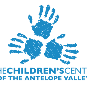 The Children's Center of the Antelope Valley logo, blue